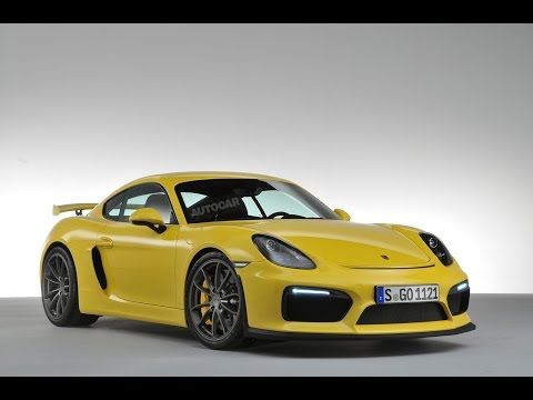 2015 Porsche Cayman GT4 revealed