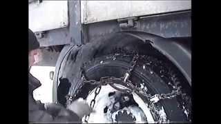 Цепи противоскольжения для спецтехники, легковых и грузовых автомобилей от компании Группа Компаний КабельСнабСервис - видео 1