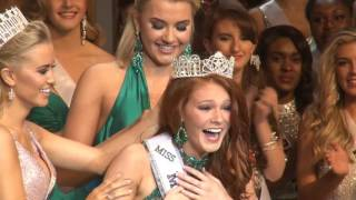 Hannah Claire Chisolm Miss Mississippi Teen USA 2017 Crowning