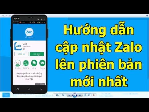 Hướng dẫn cập nhật Zalo lên phiên bản mới nhất trên điện thoại Android