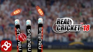 Real Cricket™ 18 (By Nautilus Mobile) - iOS/Android - Gameplay Video