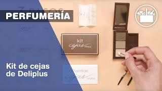 Perfumería de Mercadona. Kit de Cejas de Deliplus