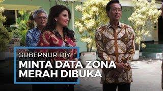 Gubernur DIY Sultan Hamengkubuwono X Meminta Pemerintah Untuk Membuka Data Wilayah Zona Merah Corona
