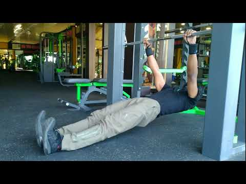 Hanging Straight Hip Leg Curl