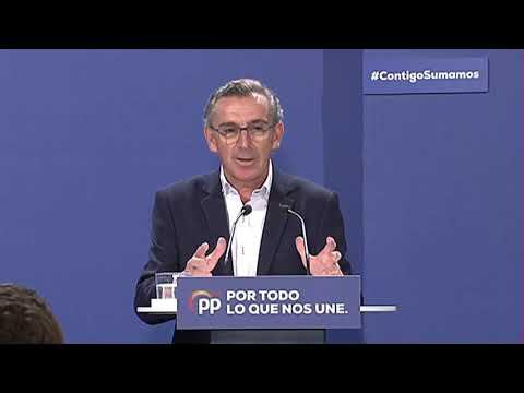 Intervención de Luis María Beamonte en un acto con afiliados y simpatizantes en Teruel