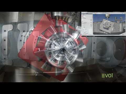 TopSolid Turbine Fan Wheel