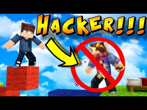 HOW TO BEAT HACKERS! - Minecraft BED WARS!!! (Hacking In Minecraft?)
