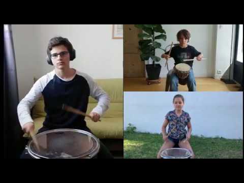 """Vidéo - """"Avec ce qu'on a !!!"""" - classe de percussions"""