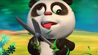 Кротик и Панда -Панда и ножницы - серия 30- развивающий мультфильм для детей