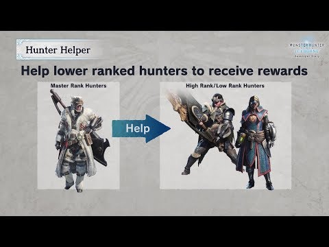 Monster Hunter World: Iceborne - Hunter Helper & Pendants