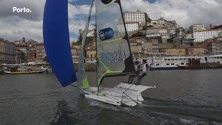 Campeonato Europeu de Vela 49er no Porto
