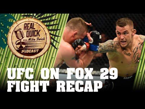 Ep #23.5 UFC On FOX 29 Recap – Dustin Poirier vs Justin Gaethje