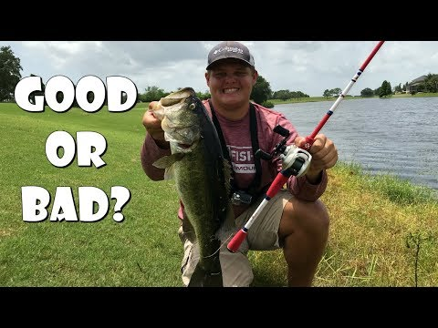 Favorite MLB Casting Rod Unboxing/Review! (HUGE Bass!)