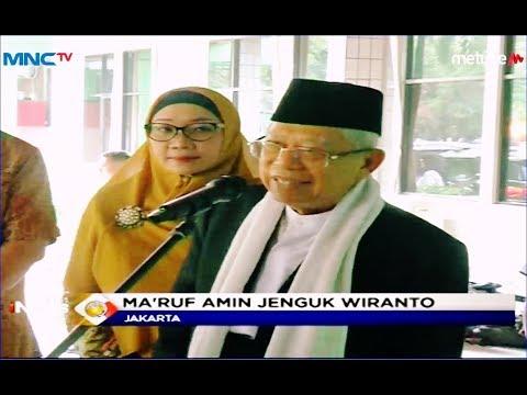 Ma'ruf Amin Jenguk Wiranto di RSPAD Gatot Subroto - LIP 14/10