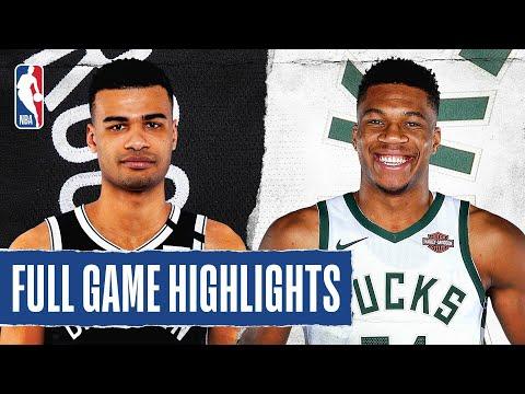 NETS at BUCKS | FULL GAME HIGHLIGHTS | August 4, 2020