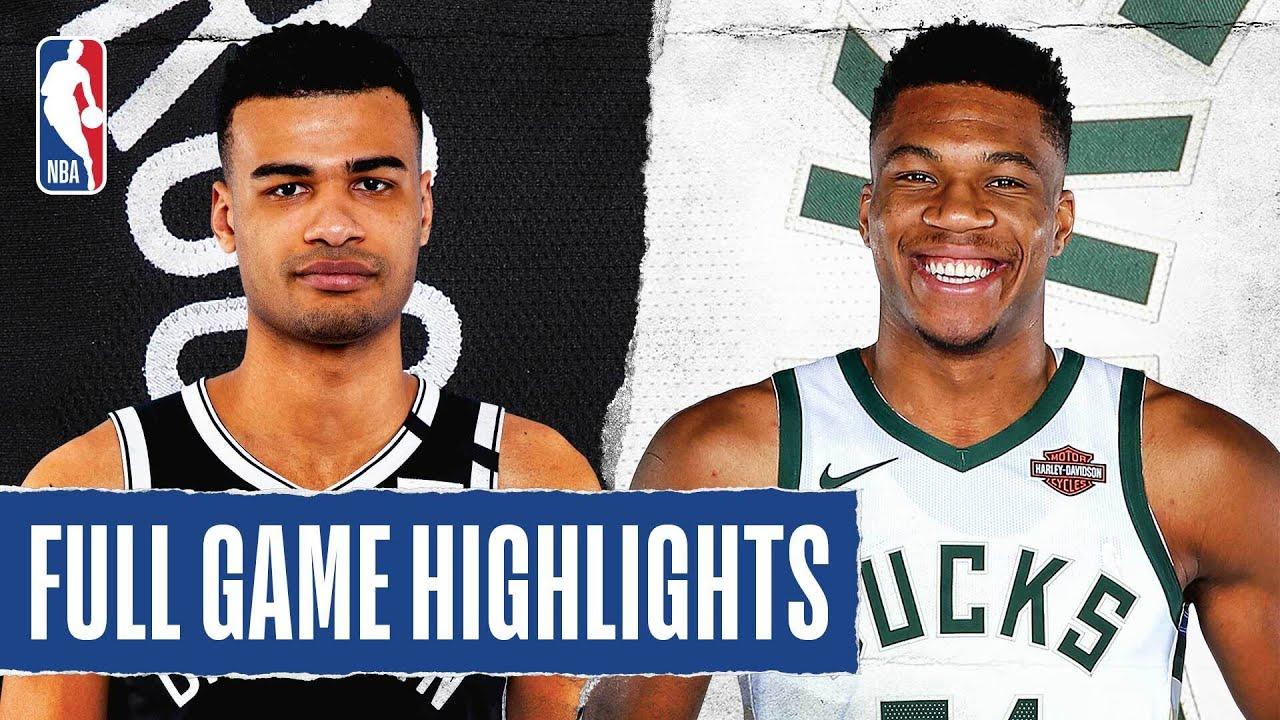 Nets vs Bucks | August 04, 2020