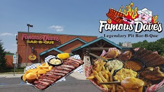 Famous Dave's Food Review!