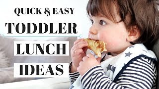 TODDLER MEAL IDEAS | LUNCH IDEAS FOR TODDLERS