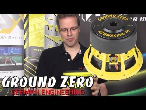 Ground Zero GZHW8 XSPL - 20cm 1500WATT SPL Auto Subwoofer Vorstellung - just-SOUND CarHifi