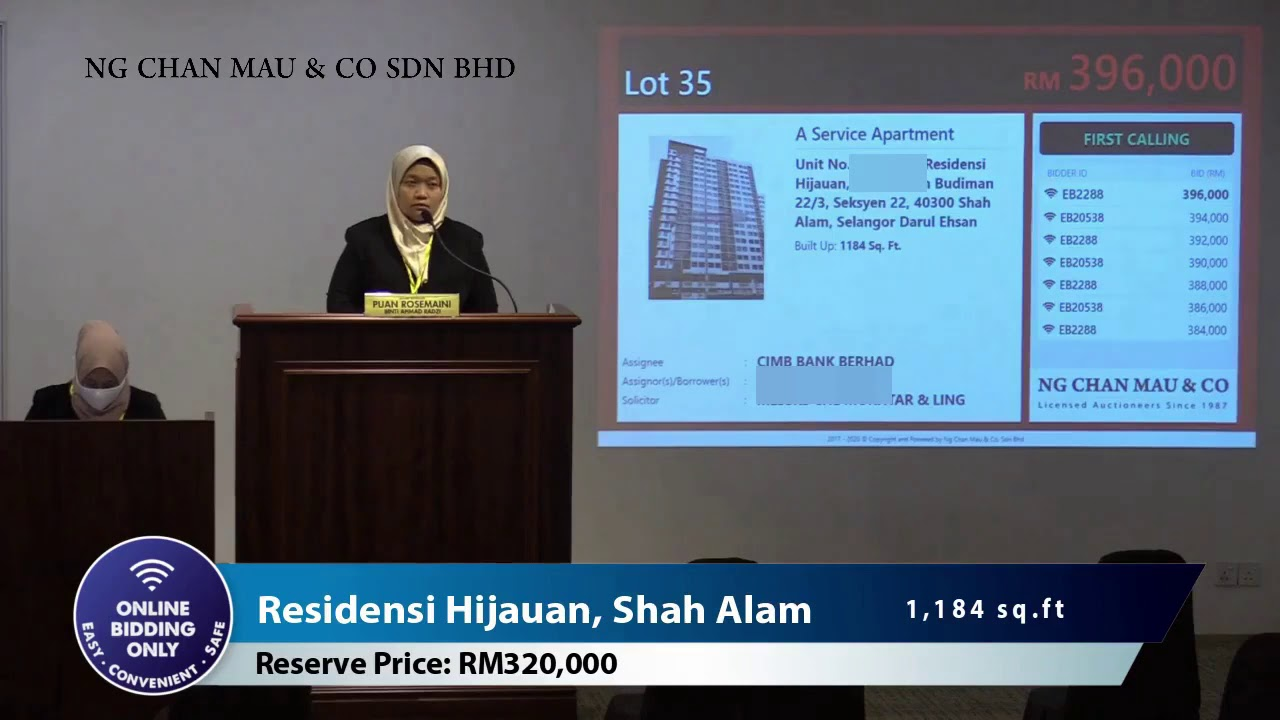 Own a 3 Bedroom Service Apartment at Shah Alam from RM 320K Only