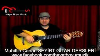 Gitar Dersi 35 (Ritim Akor) Serbest Folk Ritmi - Gemiler