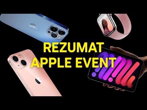 Apple Event în 7 minute. iPhone 13 | 13 Pro, Apple Watch 7 (review română)