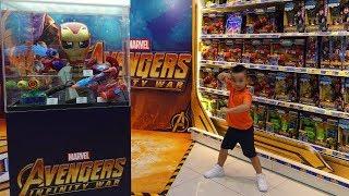 Avengers Infinity War Toys Hunt Shopping Fun With Ckn Toys