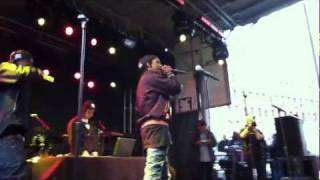 """Palace""  A$AP Rocky & Clams Casino LIVE @ The Creator's Project DUMBO 10/15/11"