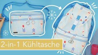 2-in-1 Kühltasche & Rucksack nähen #CooleJule