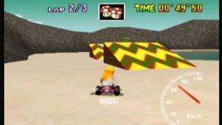 "MK64 - World Record on Koopa Troopa Beach - 1'35""61* (NTSC: 1'19""52) by Daniel Burbank"