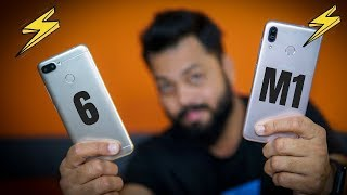 ASUS ZENFONE MAX M1 Vs REDMI 6 COMPARISON ⚡⚡ Who Wins This Battle?