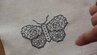 Blackwork Nasıl Yapılır?/ How To Make Blackwork Embroidery