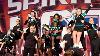 Cheer Extreme Teal Inspire Spirit of Hope 2017