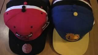 Баскетбольная кепка NBA Golden State Warriors - видео 2
