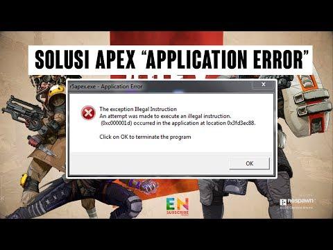 SOLUSI R5APEX.EXE APPLICATION ERROR (APEX LEGENDS - Battle Royale)