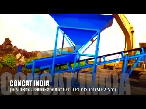 Conveyor Belt Sand Screening Machine