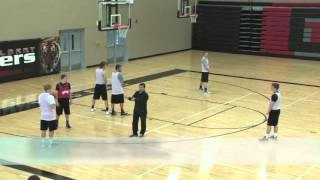 Learn How to Beat a Box and 1 Defense! - Basketball 2015 #86
