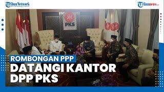 Gunakan Bus, Rombongan PPP Sambangi DPP PKS
