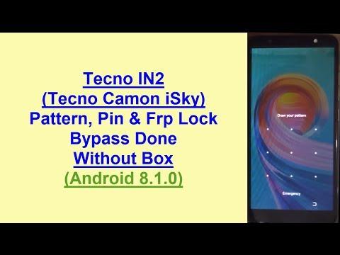 Tecno In2 Frp Remove Remove Tecno In2 Camon Isky Frp