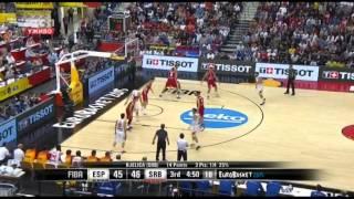 EuroBasket 2015 Spain - Serbia 70-80