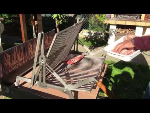 Griglia Girevole per Barbecue
