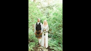 Calgary Wedding Photographer: Intimate Wedding at Deane House and Reader Rock Garden Cafe - Video Cl