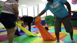 Los bebés también van al gimnasio en Brasil