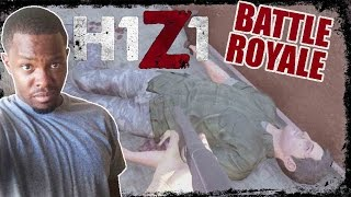 """H1Z1 Hardcore Battle Royale Gameplay - """"SHOT HIM IN THE FACE"""" 
