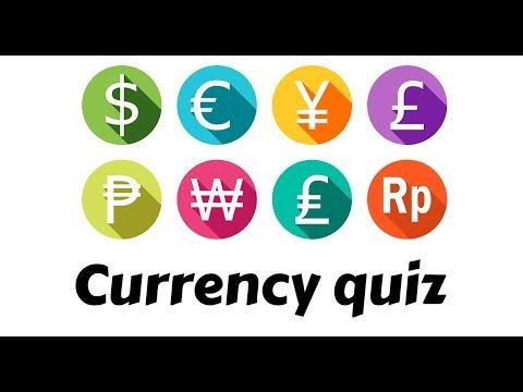 World currency symbols quiz