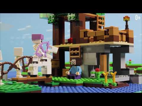 Конструктор BELA Minecraft «Нападение армии скелетов» 10989 (Аналог LEGO 21146), 463 детали