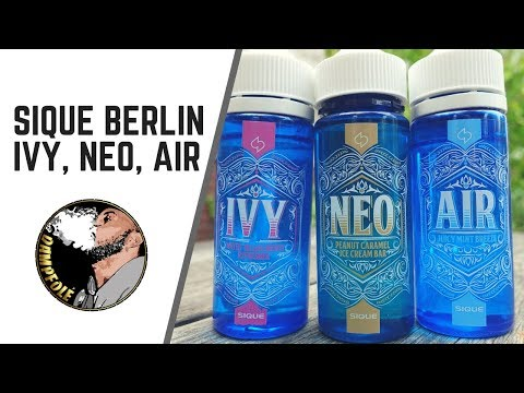 YouTube Video zu Sique Berlin SIQUE IVY Shortfill Liquid 100 ml für 120 ml