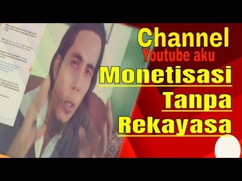 CARA MONETISASI CHANNEL YOUTUBE TANPA REKAYASA
