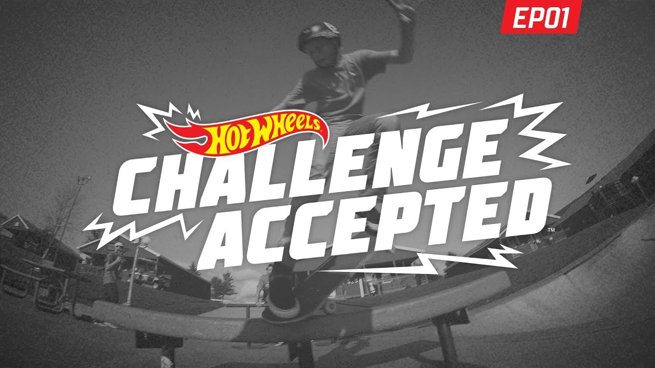 BS Nose Blunt Slide in The Rock - Hot Wheels Challenge Accepted - Woodward Camp