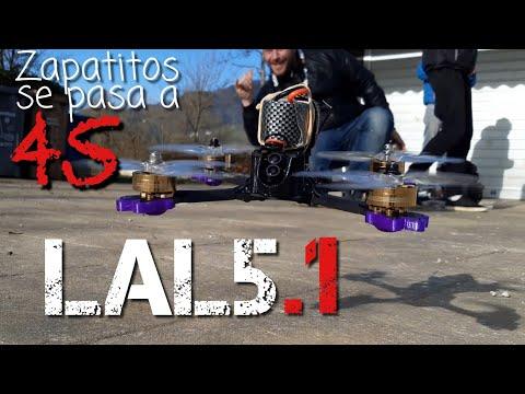 LAL5.1, la versión 4S del mejor drone de Eachine hasta el momento